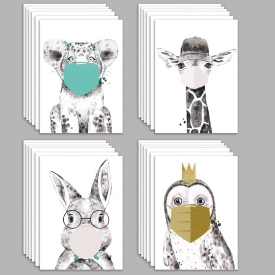 Animal isolation cards